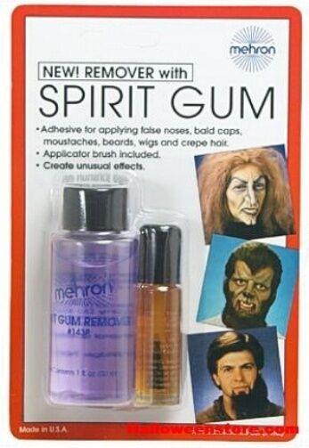 Halloween FX Spirit Gum Skin Adhesive Facial Hair Prosthetics Wigs Fancy Dress