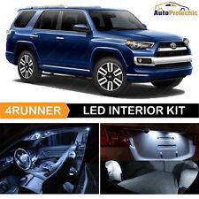 16x LED White Light Interior Package Kit For 2003 - 2016 Toyota 4Runner Back UP