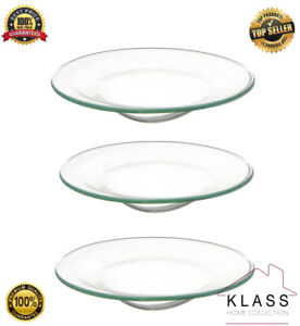 3-x-Glass-Oil-Burner-Large-Replacement-Dish-Spare-Bowl-Scented-Yankee-Candles