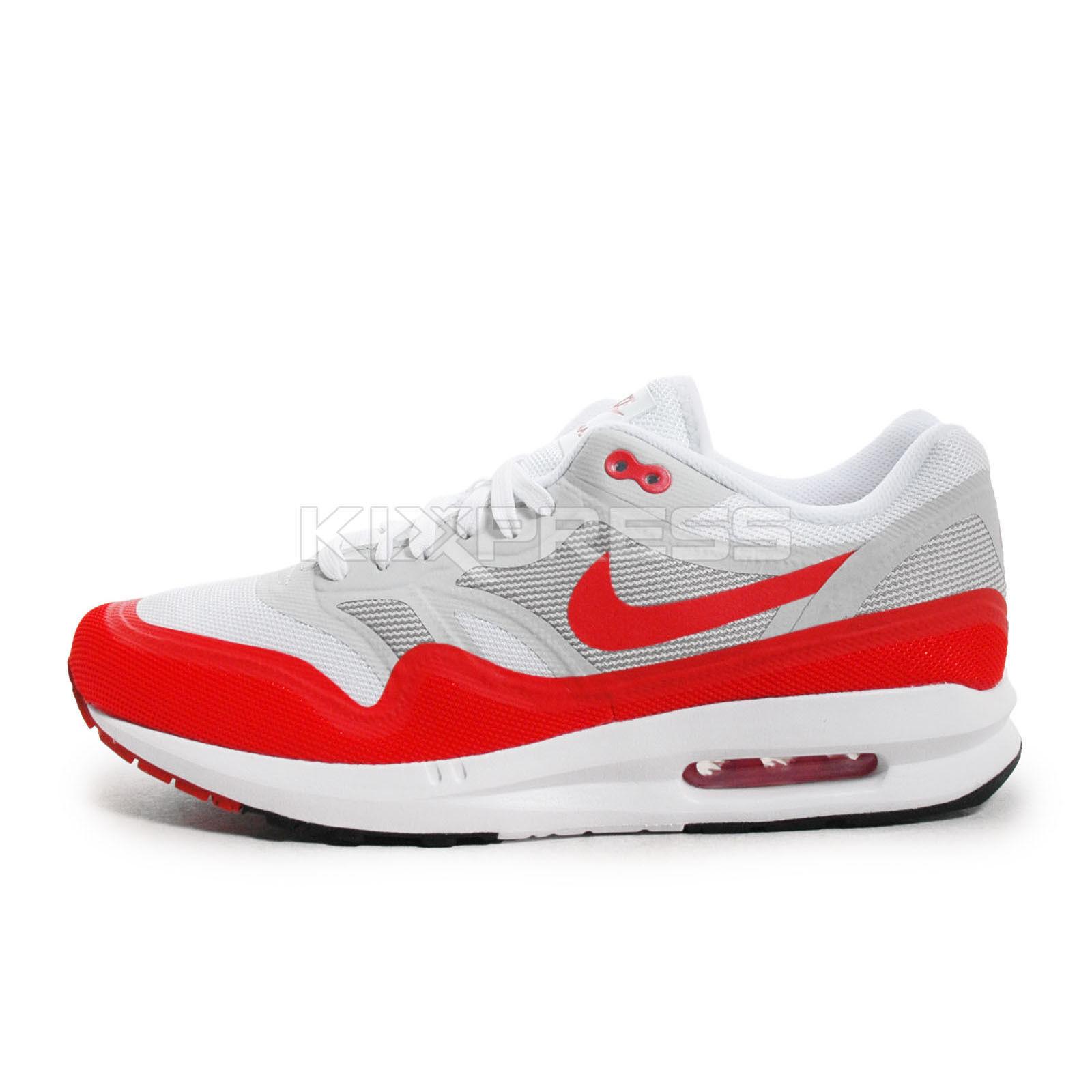 timeless design 49575 99236 Nike Air Max Lunar1  654469-101  NSW Running White Red-Grey