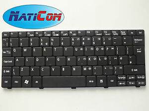 New-keyboard-ACER-ASPIRE-ONE-D255-D255E-D257-D260-D270-EMACHINES-350-355-UK