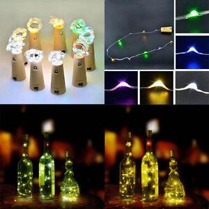 Chic-Corcho-Forma-LED-Lampara-Mesilla-estrellado-luz-Botella-de-vino-Para-2018