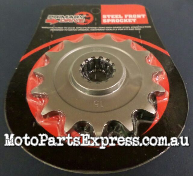 15 TOOTH FRONT SPROCKET SUZUKI RMX250 RMX 250   1989 - 1998       32315      053
