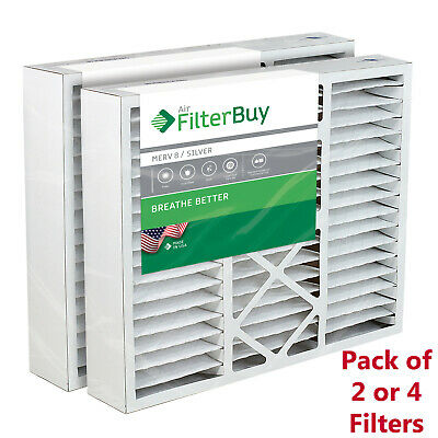 AFB Silver MERV 8. Pack of 1 FilterBuy 17.5x27x5 Trane Perfect Fit BAYFTFR17M Compatible Pleated AC Furnace Air Filters