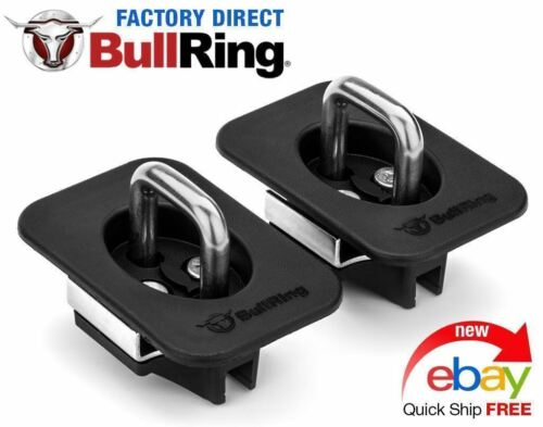 Bull Ring 4028-1 pair Flush    Truck Tie Downs  98-14 F 15099-16 Super Duty