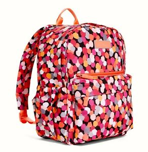 26c8746ad9 NWT VERA BRADLEY PIXIE CONFETTI LIGHTEN UP JUST RIGHT BACKPACK ...