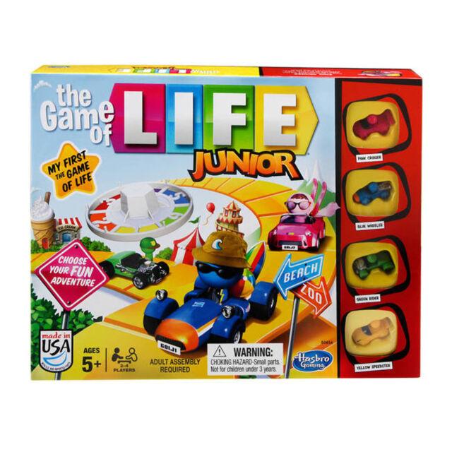 Game Of Life Junior Edicion Infantil Tablero Juego Para Edades 5 Por