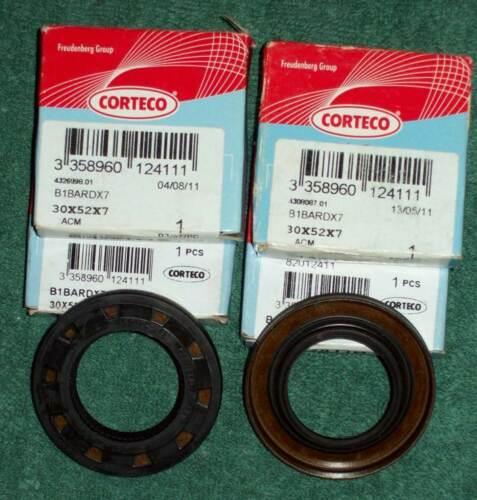 Fiat DOHC and SOHC camshaft and auxiliary shaft seal 52 x 30 x 7