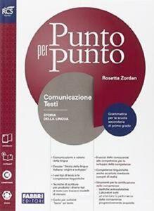 LIBRO-Punto-per-punto-Comunicazione-e-testi-Extrakit-Openbook-ROSETTA-ZORDAN