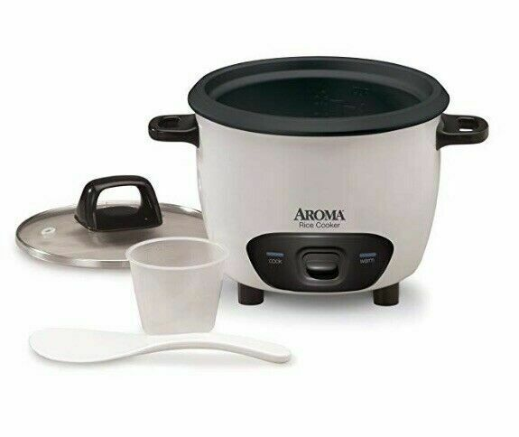 Aroma ARC7431NG 6-Cup  Pot Style Rice Cooker and Food Steame