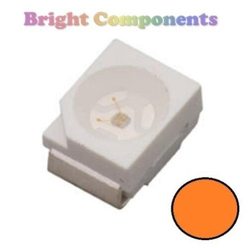 - Ultra Bright SMD SMT 3528//1210 UK 10 x Orange PLCC-2 LED 1st CLASS POST