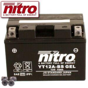 Batterie Kymco Downtown 300 i V2 Bj. 2009 VARTA YT12A-BS