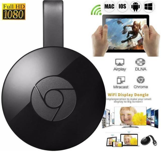 pour Google Chromecast 2ème WiFi HDMI Écran Miroir Dongle youtube Miracast FR