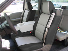 Ford F 150 04 08 Sleather Front Custom Seat Cover Built In Seatbelt Blackgrey Fits Ford F 150