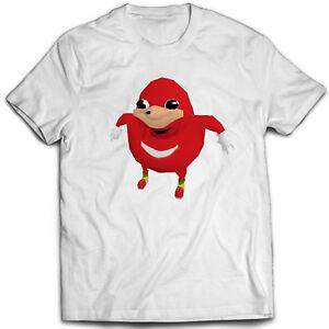 Ugandan Knuckles T Shirt Meme Ebay