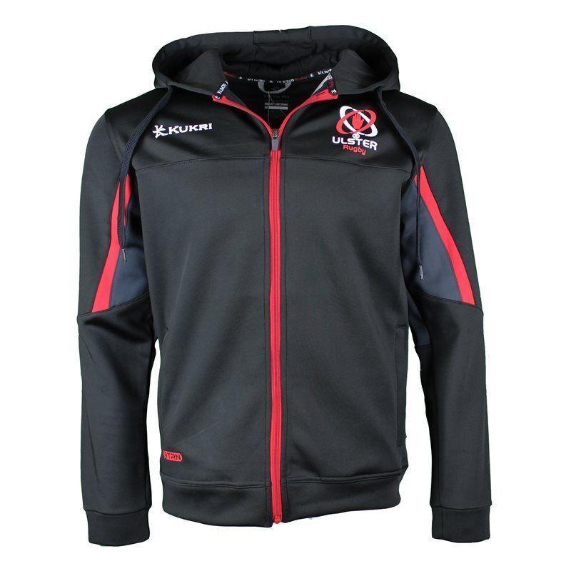 Kukri ulster Rugby Blast Fleece Fleece Fleece Kapuzenpullover 17 18 - schwarz rot     | Vorzugspreis  | Nicht so teuer  |  Neuer Markt  d1e458