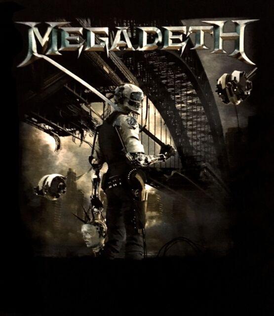 MEGADETH cd cvr DYSTOPIA ALBUM Official SHIRT Size MED new