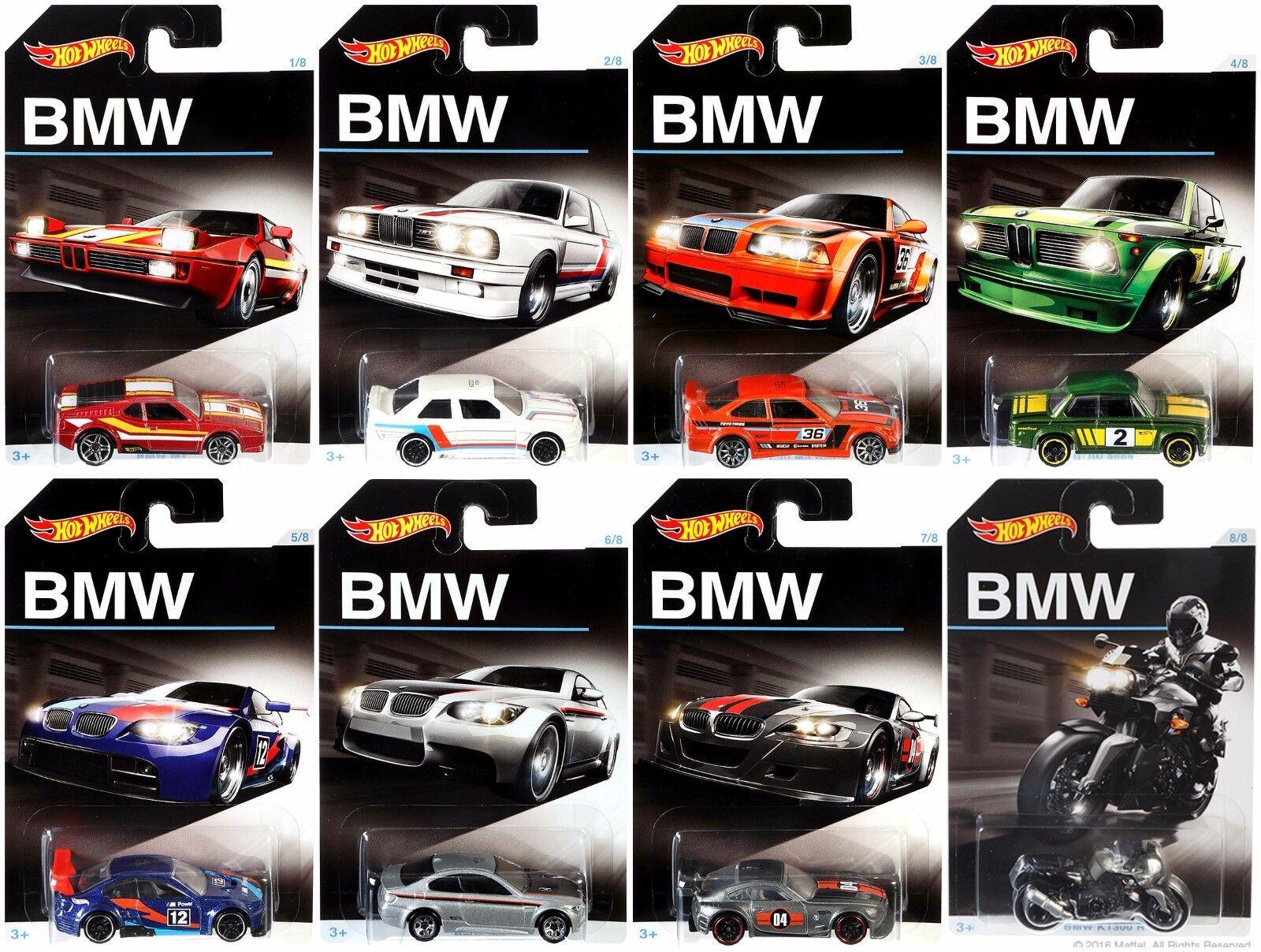 HOT WHEELS BMW SERIE pressofusione di metallo giocattolo auto Hot Wheels 1:64 priorità spedizione