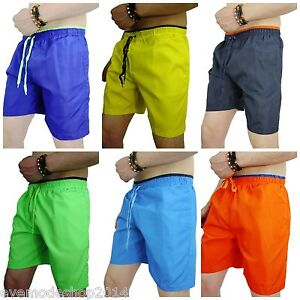 herren badehose neu kurz badeshorts shorts uni m l xl xxl. Black Bedroom Furniture Sets. Home Design Ideas