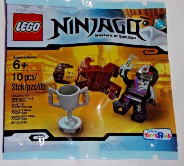 Dareth Ninjago Vs Minifigure 2 Nindroid 5002144 Lego Polybag TKlJ1Fc