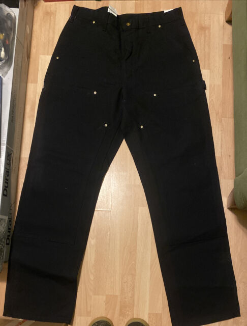 Carhartt Washed Duck Double Front Work Dungaree B136 Pants 33 X 30 For Sale Online Ebay