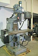 Sharp 3 Axis Cnc Vertical Mill Milling Machine Anilam 1100 Control 10x51 3hp