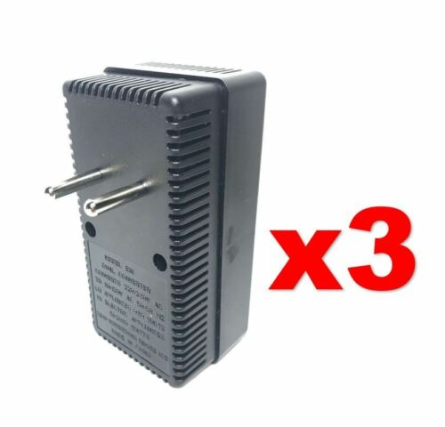 EU Europe to USA 50-2000W Voltage Converter 220v to 110v Power Transformer 3PACK