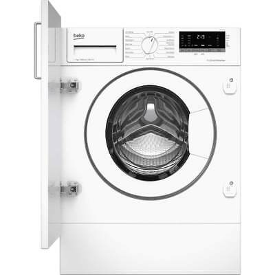 Beko WIR76540F1 A+++ Rated Integrated 7Kg 1600 RPM Washing Machine White New