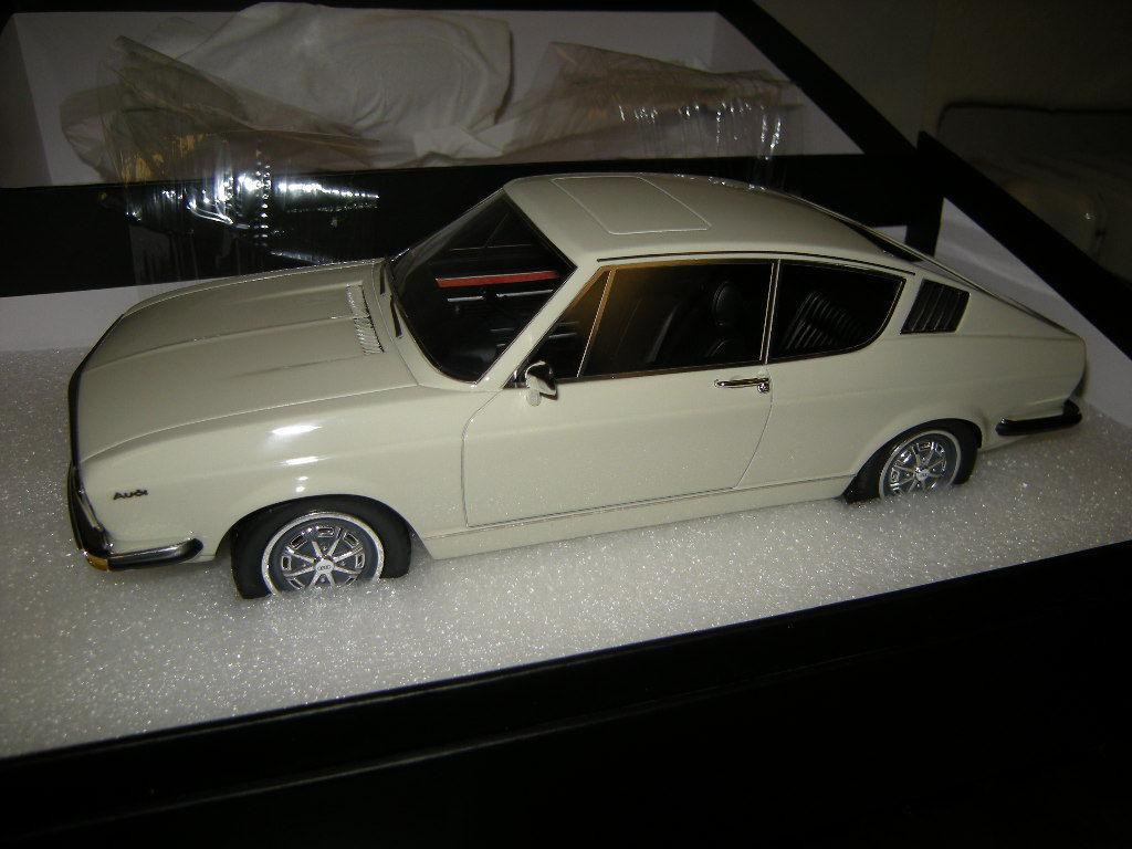 1 18 KK-Model Audi 100 Coupe C1 blanc blanc  Limited Edition BNIB  bas prix