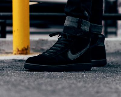 Nike Vandal alta LTR NERO Supreme Sneakers Triple UK 7, 8, 8.5, 9, 9.5, 1 | eBay