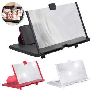 Folding Portable 3D Video Mobile Phone Screen Magnifier Amplifier Stand Bracket