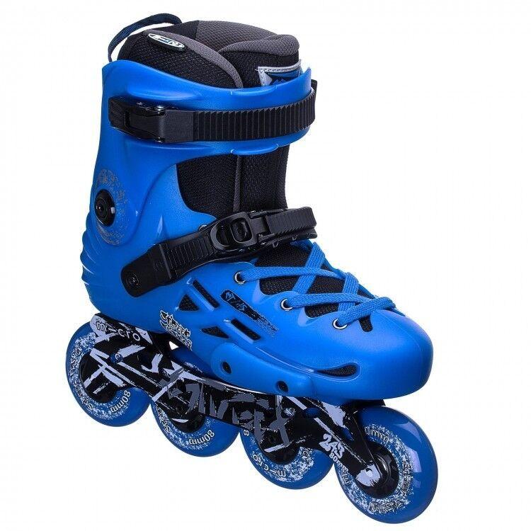 MICRO schaatst MT-Plus 2018 blauw (maten EU38-45)