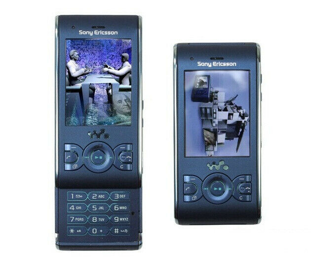 Sony Ericsson Walkman W595 -BLUE (Unlocked) Cellular Phone Free Shipping