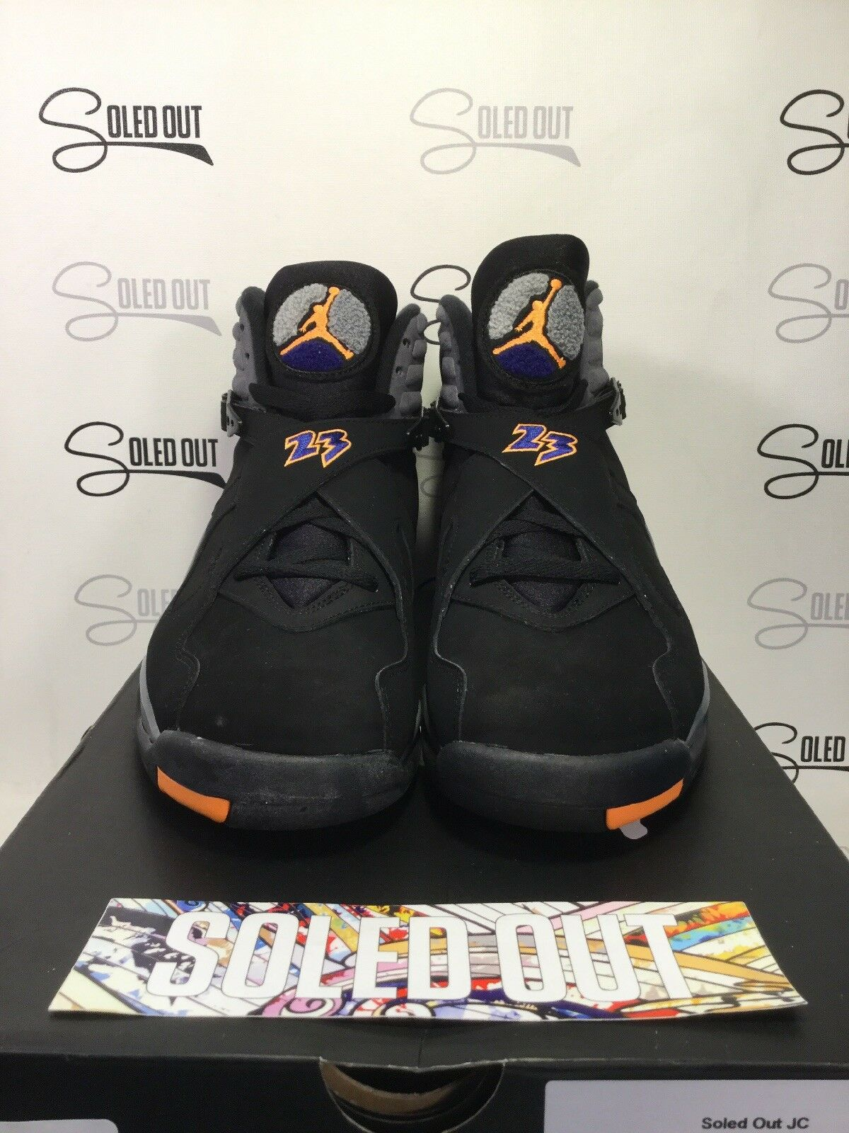 AIR JORDAN 8 RETRO  PHOENIX SUNS  2013 - ITEM NUMBER 11-126