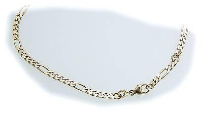 Jewelry & Watches Considerate Pulsera De Tobillo 25cm 23cm Oro 333 Cadena Fígaro Pesado Amarillo Mujer Calidad High Quality And Low Overhead