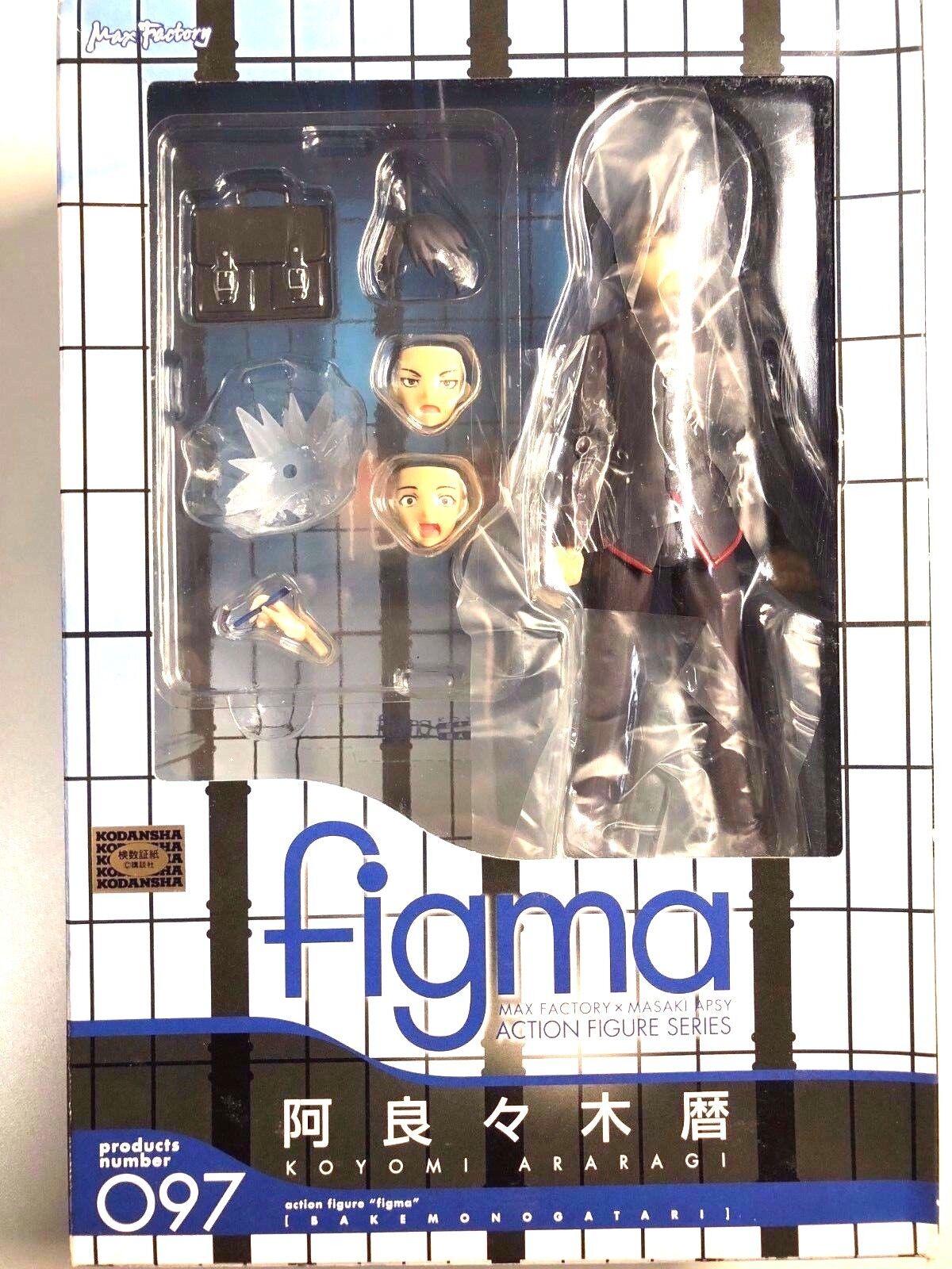 Free Shipping fromJapan Authentic Figma Koyomi Araragi Bakemonogatari MaxFactory
