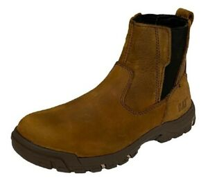 Caterpillar-Abbey-Damas-Industrial-Meter-Gusset-Botas-de-Seguridad