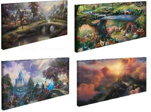 Thomas-Kinkade-Choice-of-4-16-x-31-Gallery-Wrapped-Canvases