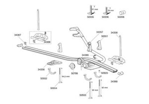 Thule-ProRide-591-Roof-Mounted-Cycle-Carrier-Spare-Parts-Multi-Listing