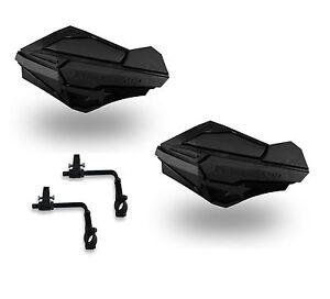 Powermadd-Sentinel-Handguards-Guards-Tri-Mount-Black-Black-Utility-ATV-Yamaha