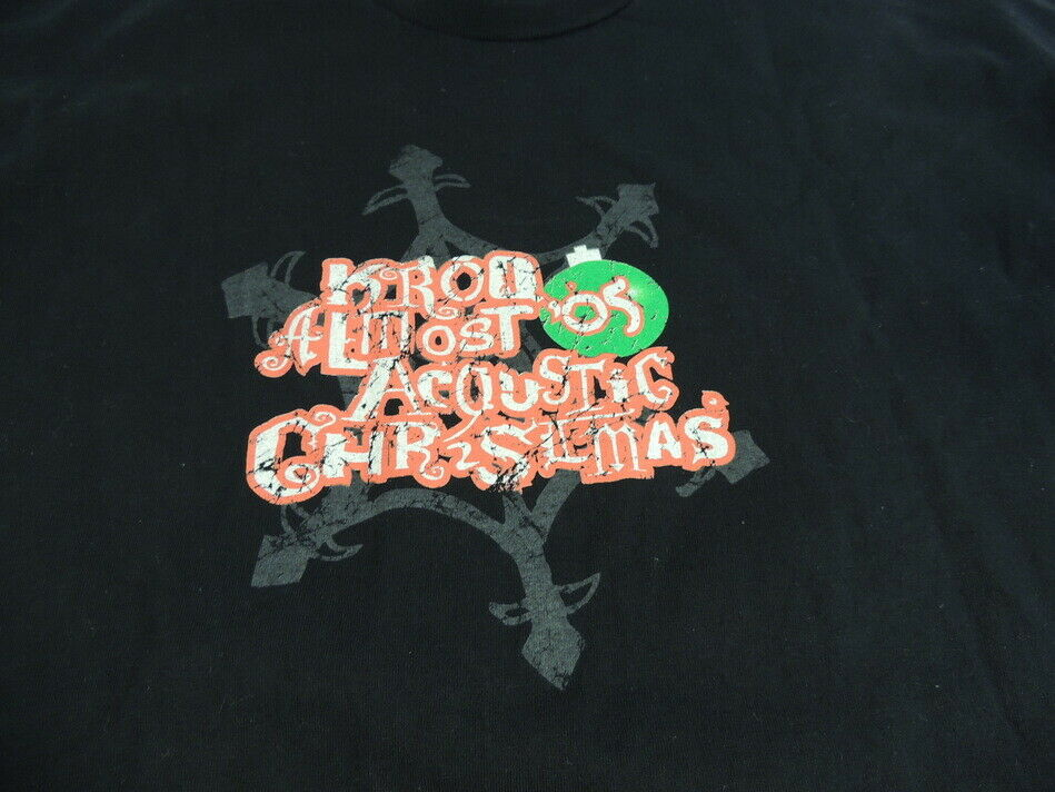 KROQ Almost Acoustic Christmas T-Shirt Concert 20… - image 3