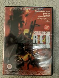 DVD-Red-Scorpion-NEW-SEALED-Collectors-Edition