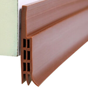 Draught-Excluder-Door-Bottom-Seal-Strip-Rubber-Draft-Stopper-Noise-Insulation