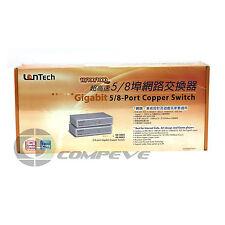 NEW Lantech GE-5003 1000Mbps Gigabit 5-Port  Port Copper Switch LAN Ethernet