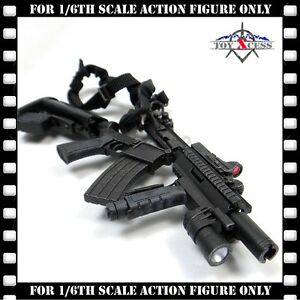 Hot-Toys-MMS194-The-Expendables-2-Barney-Ross-1-6-Scale-ASSAULT-RIFLE-FOR-TOY