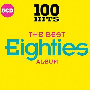 100-Hits-The-Best-Eighties-Album-2017-CD-VERY-GOOD-Condition