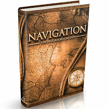 43 Navigation Books on DVD Celestial Nautical Compass Sextant Astronomical Maps