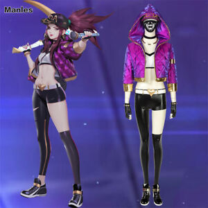 league of legends costume kda akali cosplay sexy outfits. Black Bedroom Furniture Sets. Home Design Ideas