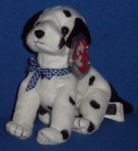 767a70e6b6b TY CANADIAN DIZZY the DOG BEANIE BABY - BLACK TAIL - RARE ...