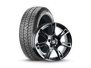 SEAT-Winter-Komplettraeder-Ibiza-Toledo-mit-Pirelli-185-60-R15-LM-Felge